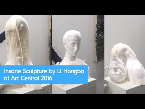 Insane Sculpture by Li Hongbo at Art Central 2016