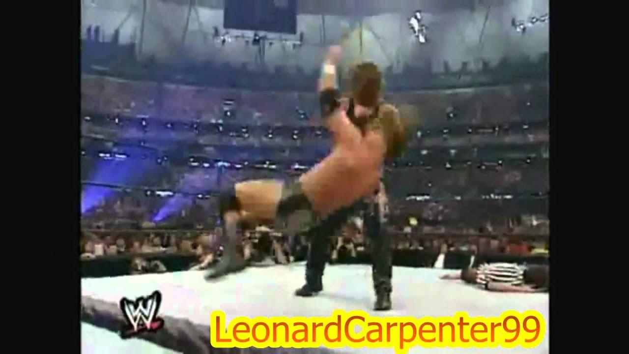 triple h vs undertaker wrestlemania 17 highlights - YouTube