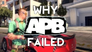 Why APB Failed : Gaming's $100,000,000 Failure