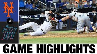 Mets vs. Marlins Game Highlights (8/5/21) | MLB Highlights