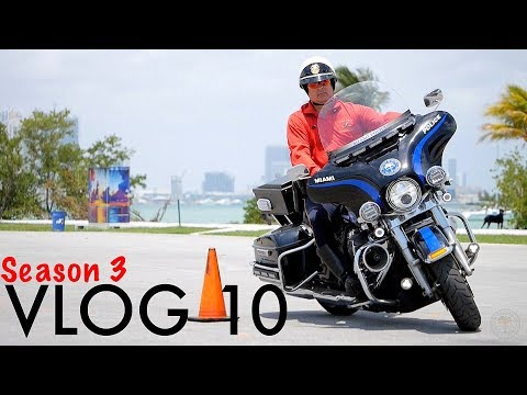 Miami Police VLOG: First Week of Police Motorcycle School (re-upload)