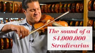 The sound of a $4,000,000 Stradivarius Violin