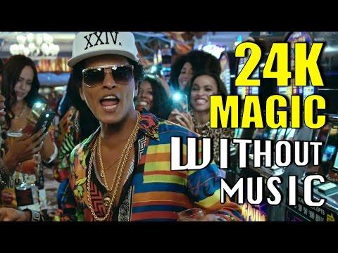 24K MAGIC - Bruno Mars (House of Halo #WITHOUTMUSIC parody)