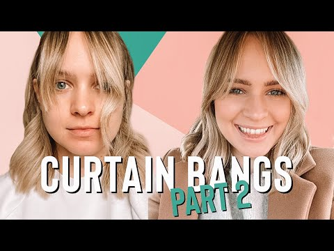 My BOTCHED Curtain Bangs Reveal - Kayley Melissa