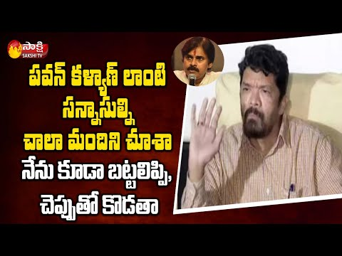 Posani Krishna Murali's first reaction after stones pelted at his house in Hyd
