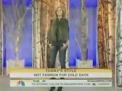 Hot Fashion for Cold Days on the Today Show