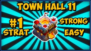 #1 TOWN HALL 11 WAR ATTACK STRATEGY 2019   CLASH OF CLANS