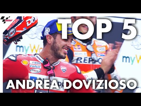 Andrea Dovizioso's Top 5 Moments from 2019