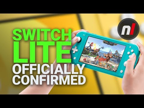 Switch Mini CONFIRMED, and It's Called the Nintendo Switch Lite