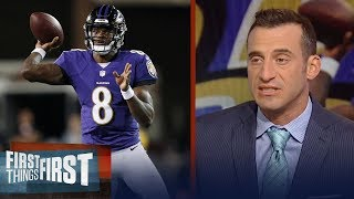 Doug Gottlieb on Lamar Jackson's debut for the Baltimore Ravens | NFL | FIRST THINGS FIRST