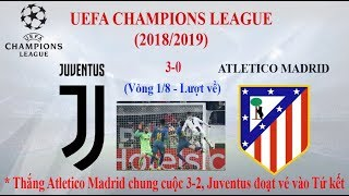 Hành trình vào Tứ kết cúp C1 của Juventus