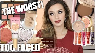 BEST & WORST OF TOO FACED | Don't Waste Your Money! EP. 1 | Jazzi Filipek