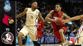 Louisville vs. Florida State ACC Basketball Tournament Highlights (2018)