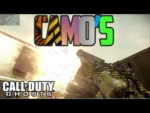 Call Of Duty: Ghosts ALL Weapon Camos - Custom Camo, Silver, Wasp, Pink, Tribal, Lizard, Ghost, Gold - Smashpipe Games