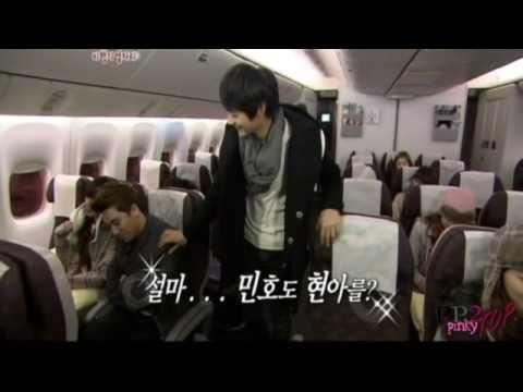 [110202] SHINee Cut  :: Onew & Minho On The Plane