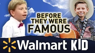 YODELING WALMART KID | Before They Were Famous | Little Hank AKA Mason Ramsey