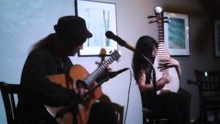 Ancient Future - Chinese Pipa and Scalloped Fretboard Guitar Improv with Shenshen Zhang and Matthew Montfort