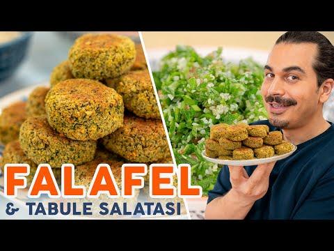 Fırında Falafel ve Tabule Salatası Tarifi: İşte O Aradığınız Hem Lezzetli Hem Sebze Ağırlıklı Menü!