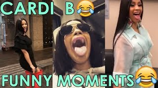 Cardi B | Best Epic Funny Moments | Crack pt.1