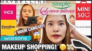 UNLI MAKEUP SHOPPING FOR 1 HOUR? LEGIT BA!? (ANG GASTOS KO BESH)   PHILIPPINES
