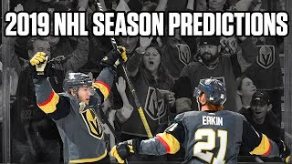 2019-20 NHL Season Predictions: Division Winners And Stanley Cup Champions w/ Steve Dangle