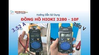 HIOKI 3280-10F, Ampe kìm - thiết bị đo điện đa năng HIOKI 3280-10F