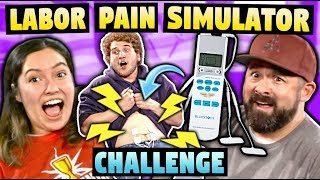 LABOR PAIN SIMULATOR CHALLENGE!
