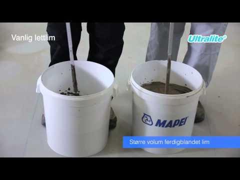 Ultralite - lettlim med større dekkflate