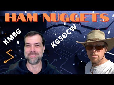 Ham Nuggets Live - Greg Mershon, KG5OCW/Tech Gear Junkie