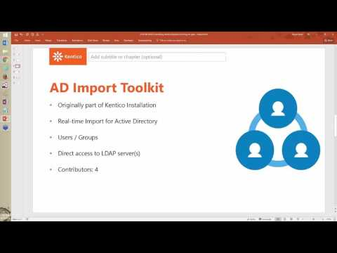 Kentico 9 - Technical Webinar: Kentico Open Source Projects