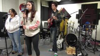 """Valerie (Cover) by Kids Rock Free's """"Fender V"""""""