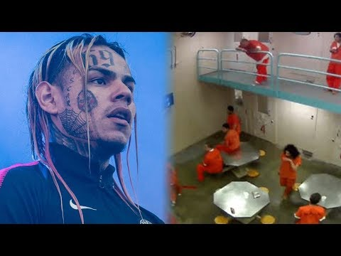Goons Attack 6ix9ine In Jail And Moved To Another Facility