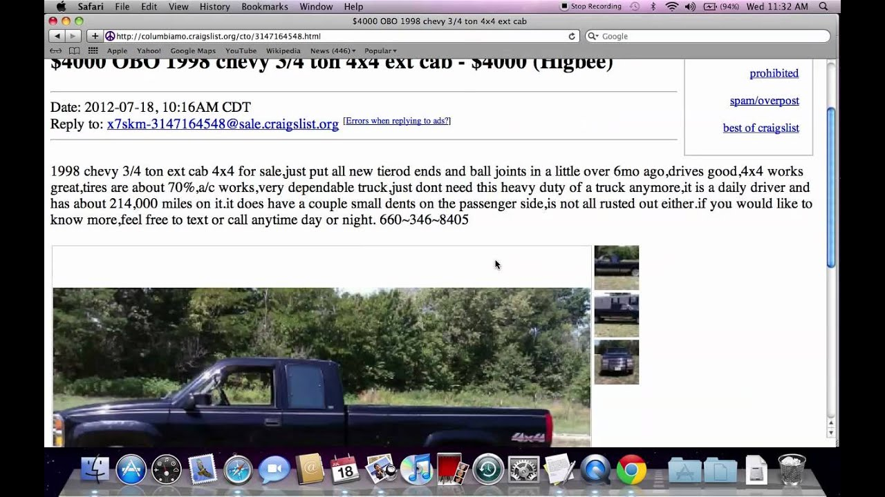 Craigslist Arkansas Cars And Trucks By Owner: Craigslist Columbia Missouri Used Trucks, Cars And Vans