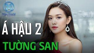 Á Hậu Tường San với trình độ Tiếng Anh đáng nể | Miss World Việt Nam 2019