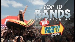 Top 10 Bands To Watch at Warped Tour 2017