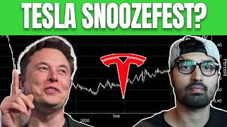 When Will Tesla Stock Price Breakout Again? (Business is booming)