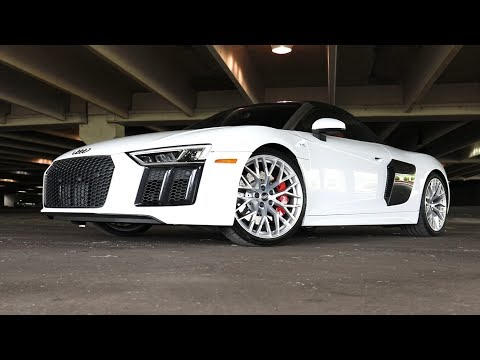 2017 Audi R8 V10 Spyder Review!   The Perfect Convertible Supercar?