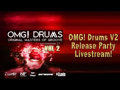 Marce 28th: OMG! Drums V2 Release Party Livestream!