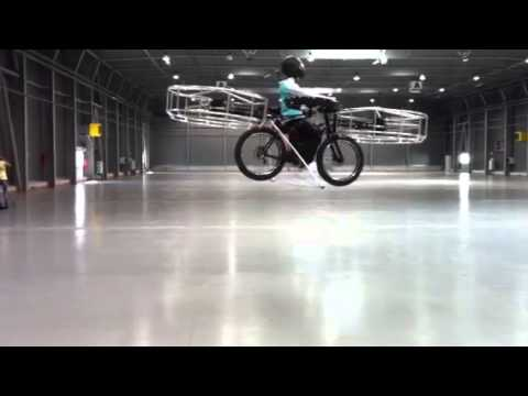 Flying bike Jan tleskac