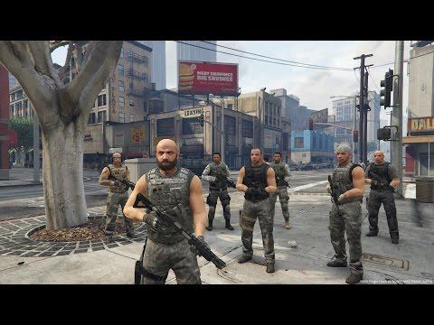 GTA 5 PC Bodyguard Mod, Police Station Attack and more! GTA V