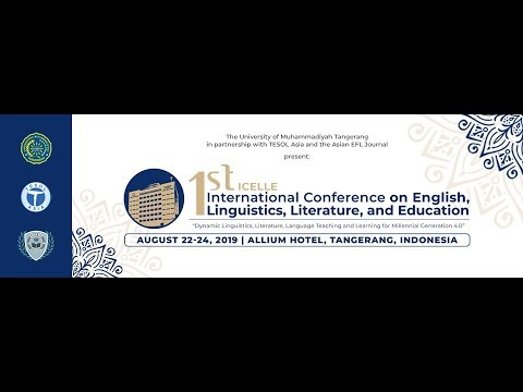 1st International Conference on English, Linguistics, Literature, and Education