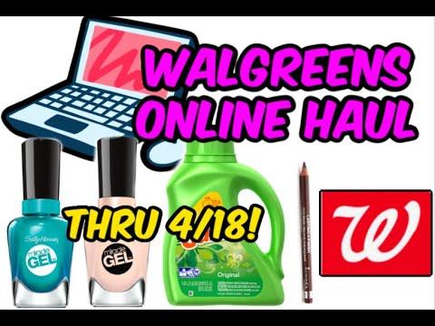 WALGREENS ONLINE HAUL (4/12 - 4/18)   EASY MAKEUP FREEBIE!