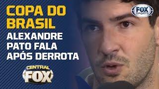 """""""FALTA ENTROSAMENTO"""": Alexandre Pato fala após derrota do São Paulo na Copa do Brasil"""