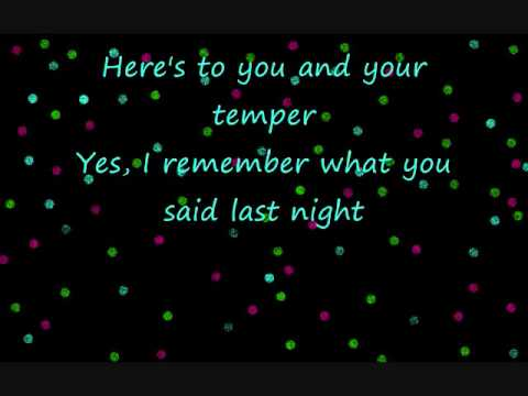 Tell me Why - Taylor Swift - With Lyrics