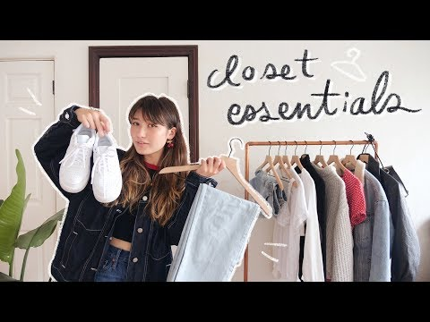 Video: the ultimate guide to closet essentials