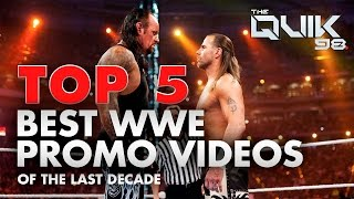 TOP 5: BEST WWE PROMO VIDEOS (Of the last decade)