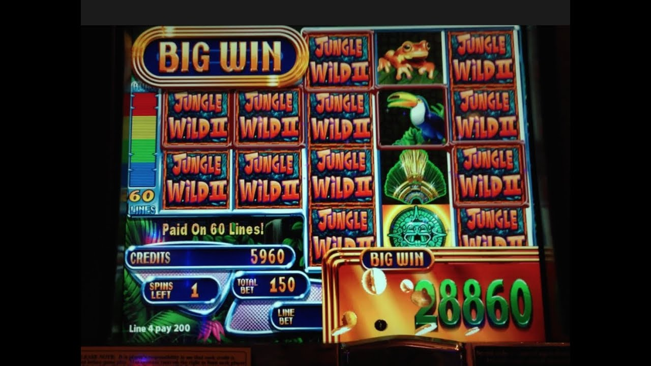 Jungle Wild Slot Machine
