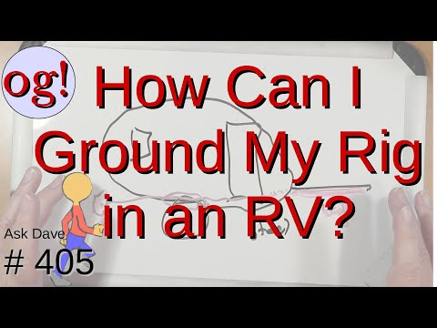 How do I Ground My Transceiver in a Recreational Vehicle (#405)