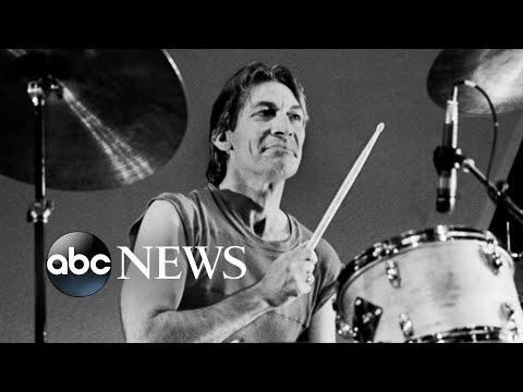 Rolling Stones drummer Charlie Watts dead at 80 | Nightline
