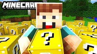 DENIS vs LUCKY BLOCK Mod CHALLENGE! | Minecraft